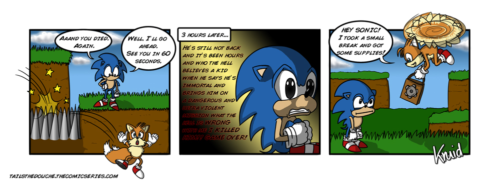 Tails The Douche Death